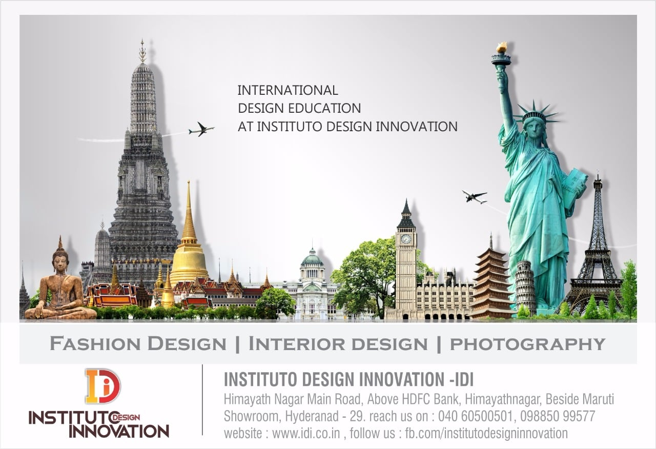 Fashion Designing Course In Hyderabad Instituto Design Innovation